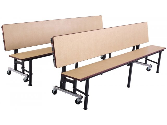 Deluxe convertible bench cafeteria table vinyl edge 6 39 cafeteria tables Convertible bench