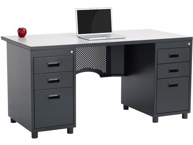 Nate Teachers Desk Double Pedestal Acd 3060 Teacher Desks