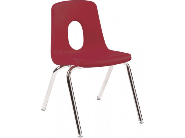 Poly Shell Stackable Classroom Chair 12 Quot H Preschool Chairs