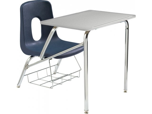 Poly student chair desk hard plastic top 14 h student chair desks - Great contemporary school furniture ...
