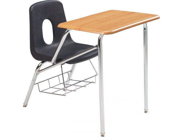 Brilliant Poly Student Chair Desk Woodstone Top 16H Evergreenethics Interior Chair Design Evergreenethicsorg
