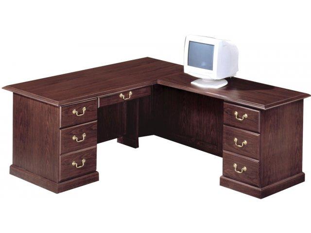 Executive L Shaped Office Desk R Rtn And L66r Office Desks