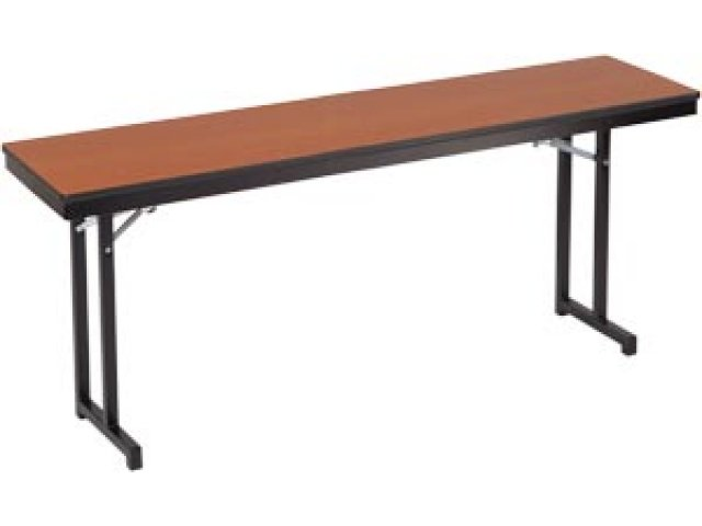 Adjustable Height Folding Training Table