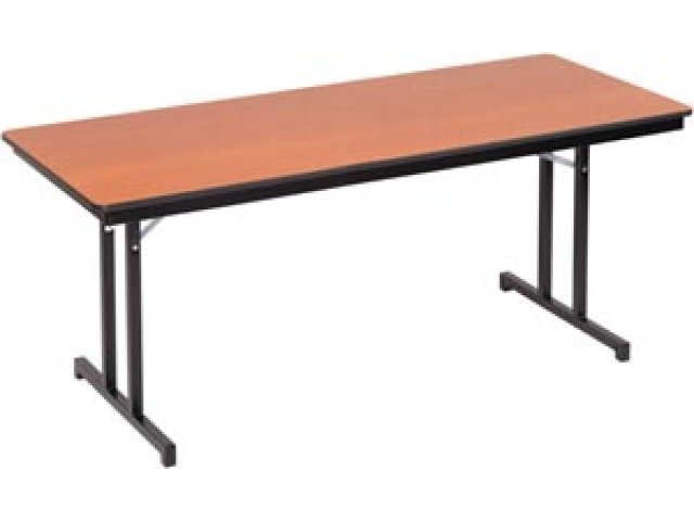 Plywood Core Folding Table Double T Leg 30 X 72 Apw 3072 Folding Tables