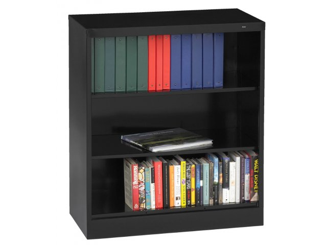 Extra Wide Steel Bookcase 46 Wx42 H