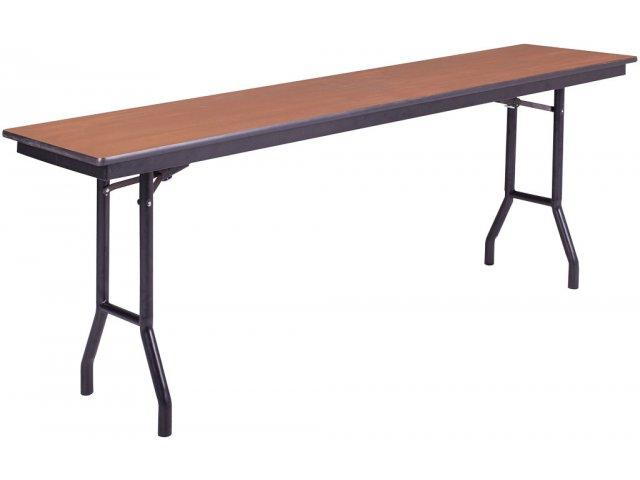 18 X 72 Folding Table.Plywood Core Folding Table Wishbone Leg 18 X 72