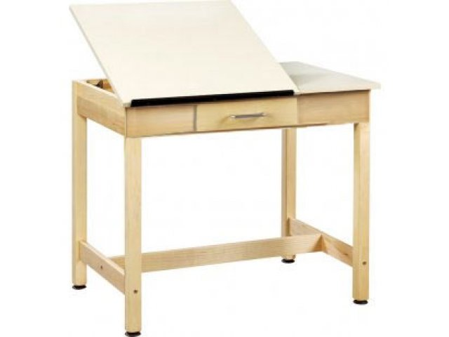 Superieur Drawing Table 2 Piece Top Small Drawer