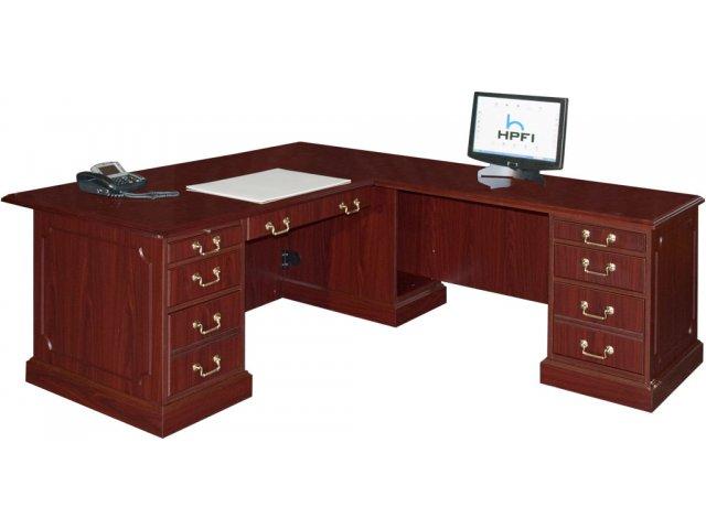 Bedford L Shaped Office Desk R Return