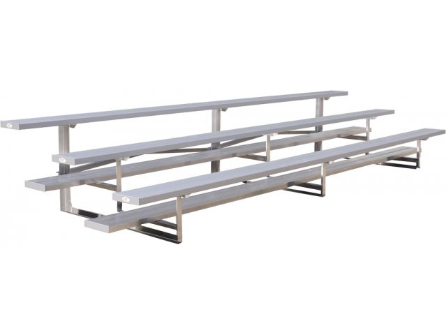9 Aluminum Tip N Roll Bleachers 3 Rows Blr 0309tr Bleachers Team Benches