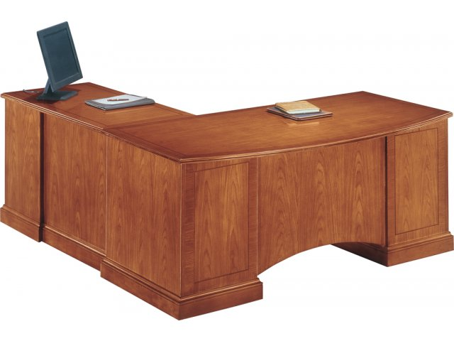 Belmont Right Executive L-Shaped Office Desk BMC-57 ...
