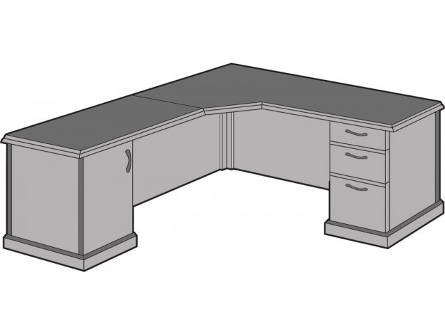 Belmont Right Corner L Shaped Office Desk Bmc 76 Office Desks