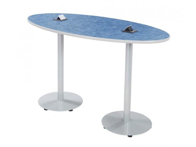 Boost Oval Café Table   Bar Height