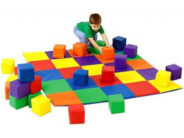 Soft Play Mat And Matching Baby Blocks Cfm 047 Play