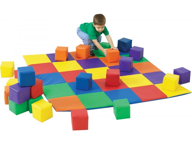Patchwork Play Mat Cfm 132 Play Amp Tumbling Mats