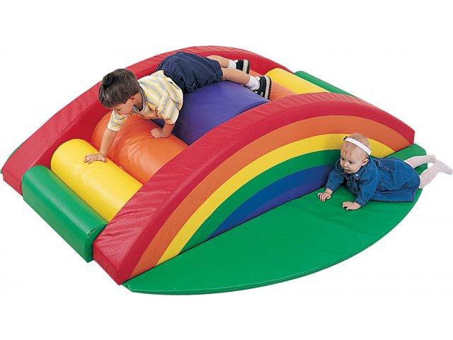 Indoor Soft Play Rainbow Arch Climber Cfp 207 Soft Play