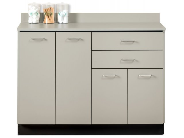Medical Storage Base Cabinet With 4 Doors And 2 Drawers