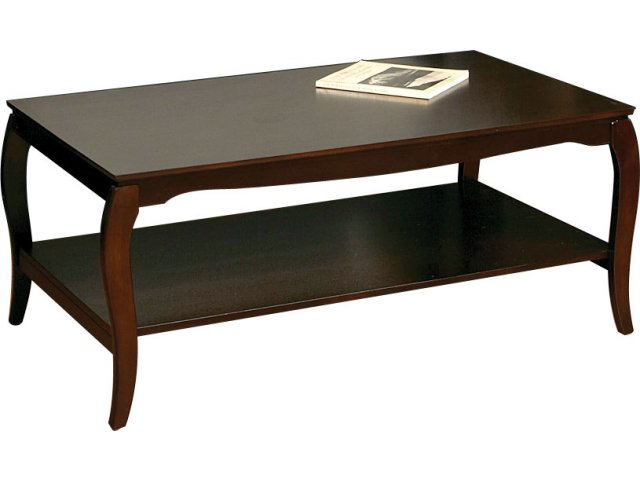 Coffee Table With Shelf 45 5 X 26 Reception Area Tables