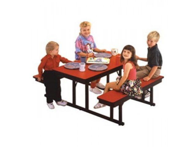 Rectangular Preschool Cafeteria Table 5 39 Classroom Tables