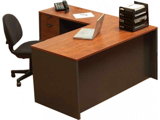reputable site f9c4f 5dd22 School Office L-Shaped Desk - Left