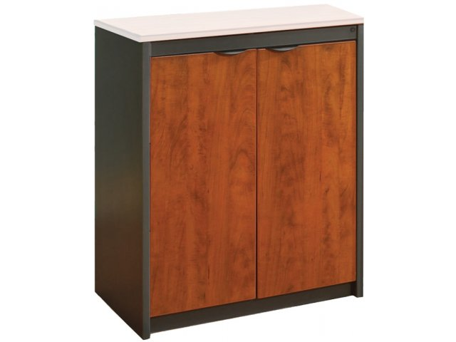Counter height school office storage cabinet no top cso