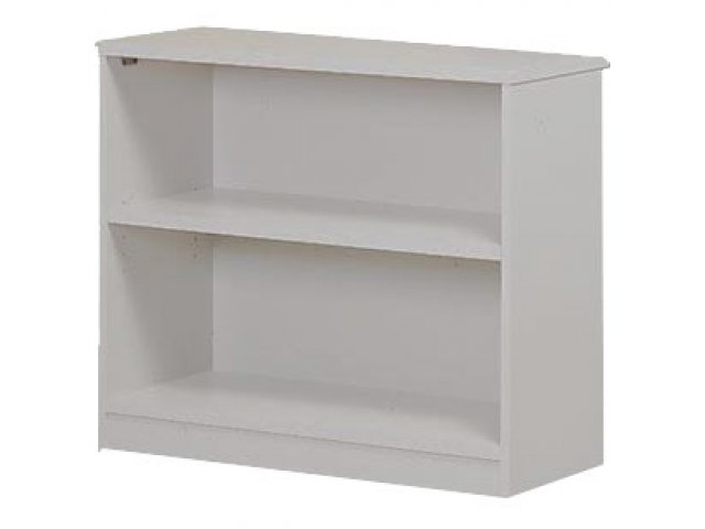 Bookcase With Solid Back W 1 Shelf
