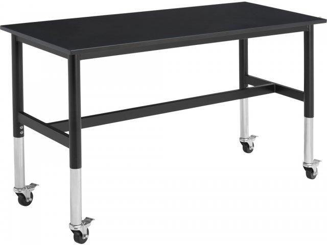 Superb Adj Standing Stem Demonstration Table Phenolic Top 24X60 Ibusinesslaw Wood Chair Design Ideas Ibusinesslaworg