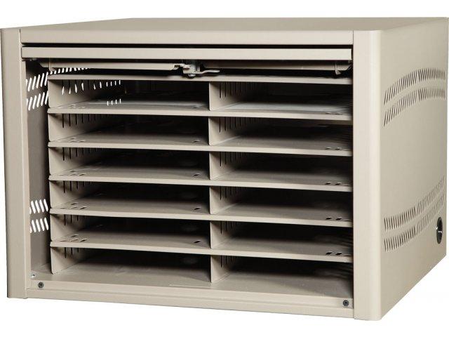 Netbook Tablet iPad Storage Cabinet - 12 Unit  sc 1 st  Hertz Furniture & Netbook Tablet iPad Storage Cabinet - 12 Unit DNC-120 Laptop u0026 iPad ...