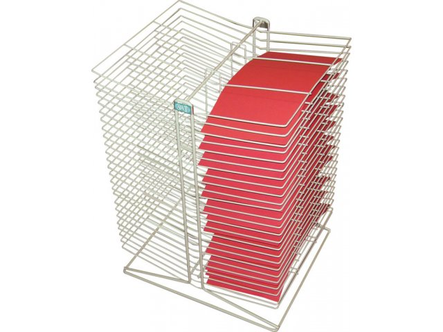 Tabletop Drying Rack 50 Shelves 10x18 Art Drying Racks