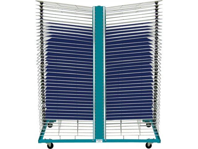 Port o rack drying rack 80 shelves 18 x24 art drying racks - Drying rack for cabinet doors ...