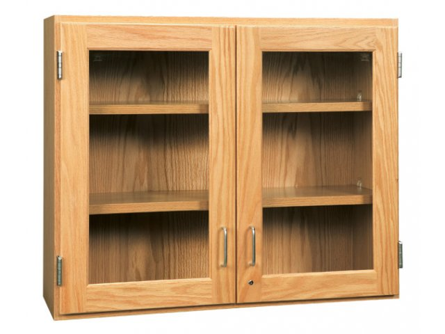 Wall Cabinet With Gl Doors