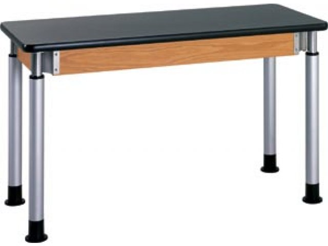 Diversified Adjustable Lab Table with ChemGuard Top 60x24