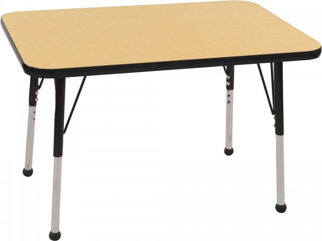 ecr4kids adjustable rectangular classroom table 24 quot x36 Bear Paw Clip Art Reading Books