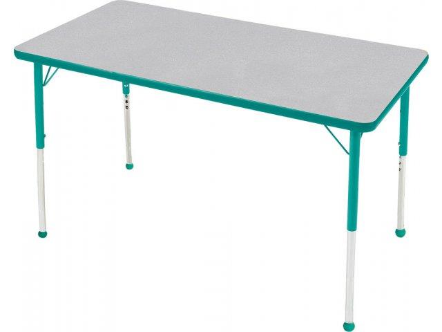 Edu Edge Rectangular Activity Table With Ball Glides 72x36
