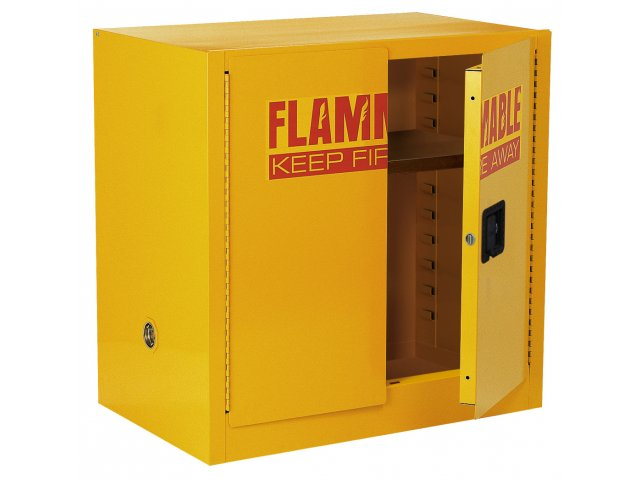 Liquids safety cabinet with 3 shelves efc 024 safety cabinets