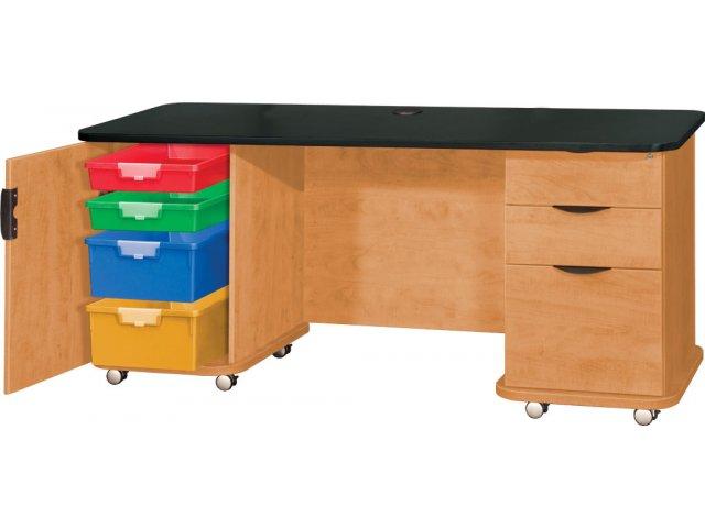 Emed Innovative Teachers Desk With Strip