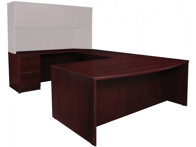 contemporary left u-shaped office desk etc-7110, office desks