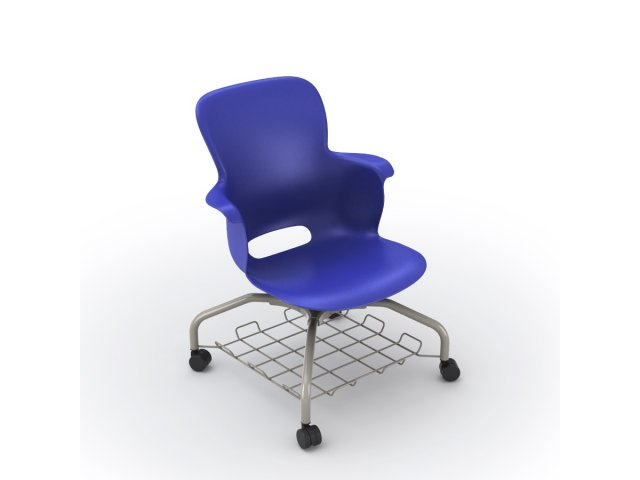 Ethos Mobile School Chair With Storage 16h