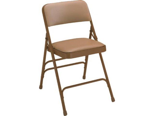 Outstanding Premium Triple Brace Vinyl Folding Chair Pabps2019 Chair Design Images Pabps2019Com