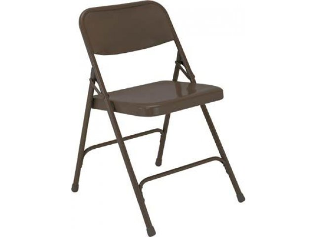 Captivating All Steel Double Hinge Folding Chair