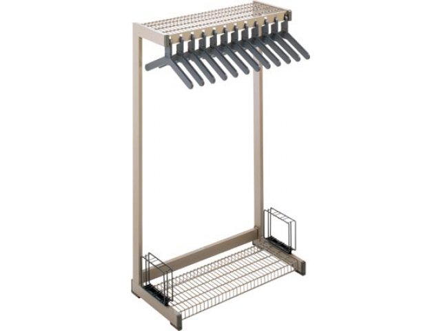Metal Commercial Coat Rack