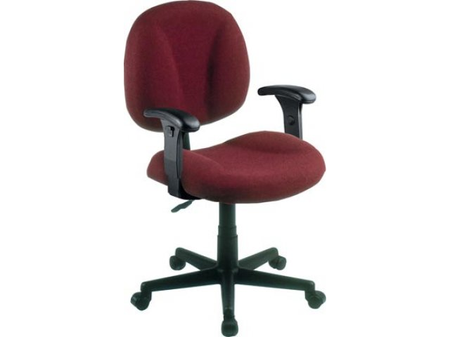 Secretarial Task Office Chair Adjustable Arms FMO 105AA Computer Chairs