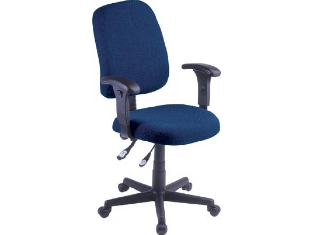Task Office Chair W Adjustable Arms FMO 118 2AA Computer Chairs