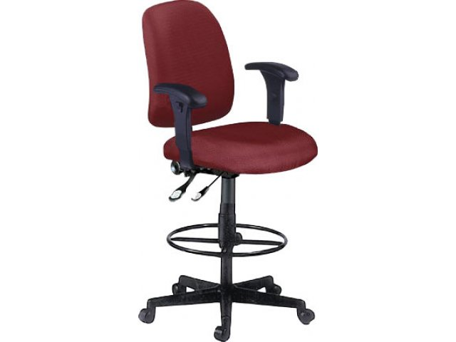Drafting Stool With Adjustable Arms FMO 118 DSK AA Computer Chairs