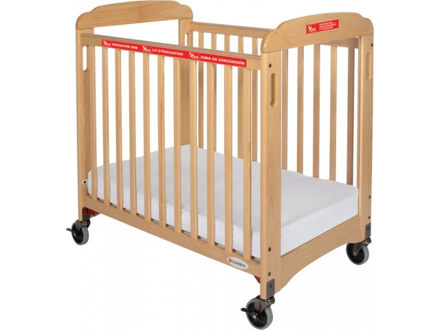 First Responder Evacuation Crib Clearview W Mattress Fnd 2047 Daycare Cribs