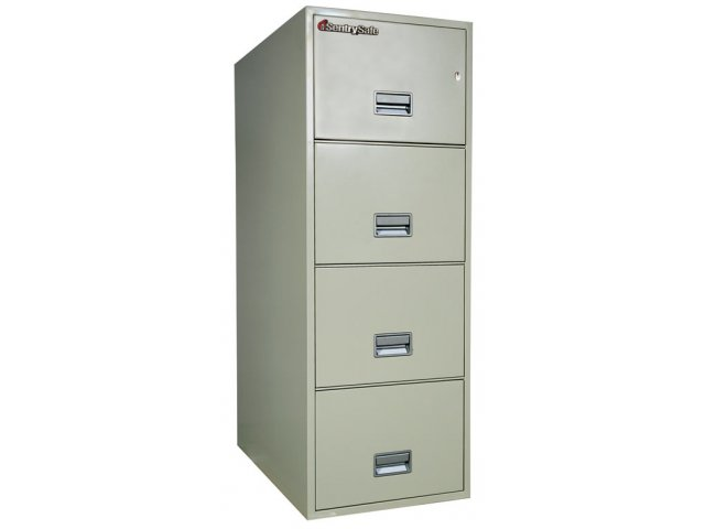 Unique FireKing 4Drawer Legalsize Fireproof File Cabinet  EBay