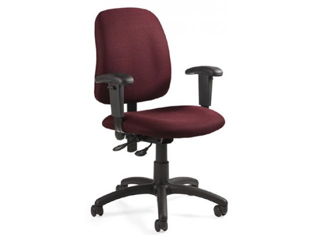 Office Chair With Adjustable Arms Back GOA 2375 Computer Chairs