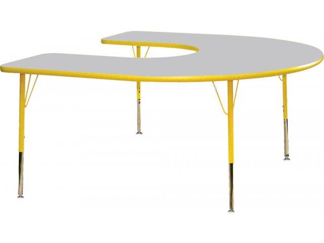 Prima Adjustable Horseshoe Activity Table