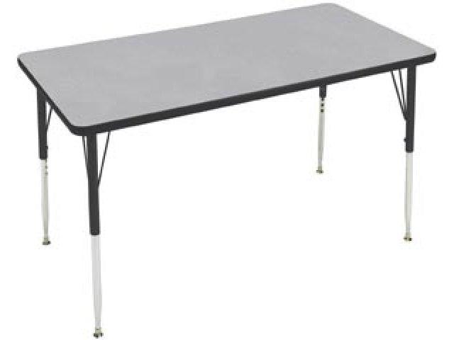 Group Study Adjustable Rectangle School Table 60x24