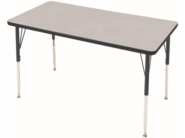 Group Study Adjustable Rectangle School Table 60x30