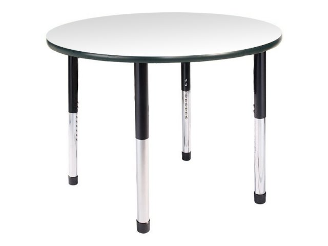 """Table Height 36: Hercules Adjustable Height Round Activity Table 36"""" Dia"""